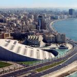 Alexandria Library, Egypt, Meeting Adzo